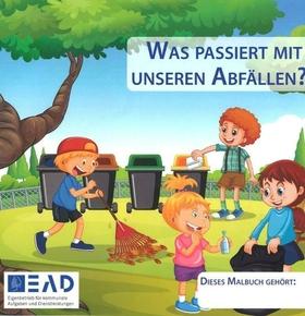 Malbücher für Darmstädter Kindergärten und Schulen