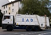 Besuch EAD-Müllfahrzeug