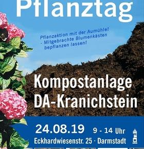 Pflanztag am 24. August auf der Kompostierungsanlage