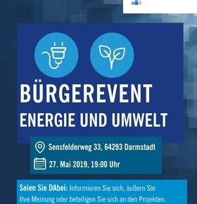 Digitalstadt Darmstadt - Bürgerveranstaltung beim EAD zu den Projektbereichen Energie und Umwelt